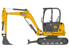 technische-zeichnung-jcb-minibagger-8035